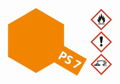 TAMIYA Color PS7 Orange Polycarbonat 100ml 300086007 bei Trade4me RC-Modellbau kaufen