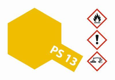 TAMIYA Farbe PS13 Gold Polycarbonat 100ml 300086013 bei Trade4me RC-Modellbau kaufen
