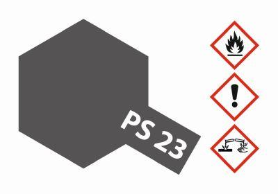 TAMIYA Farbe PS23 Gun Metall Grau Polycarbonat 100ml 300086023 bei Trade4me RC-Modellbau kaufen