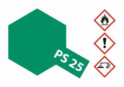 TAMIYA Farbe PS25 Hellgrün Polycarbonat 100ml 300086025 bei Trade4me RC-Modellbau kaufen