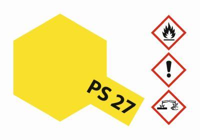 TAMIYA Farbe PS27 Neon Gelb Polycarbonat 100ml 300086027 bei Trade4me RC-Modellbau kaufen