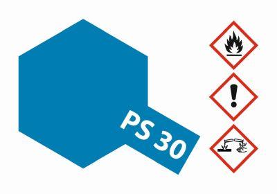 TAMIYA Farbe PS30 Brillant Blau Polycarbonat 100ml 300086030 bei Trade4me RC-Modellbau kaufen