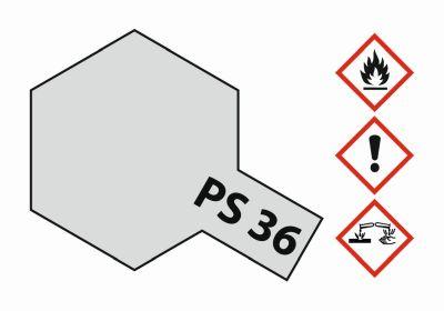 TAMIYA Farbe PS36 Translucent Silber Polycarbonat 100ml 300086036 bei Trade4me RC-Modellbau kaufen