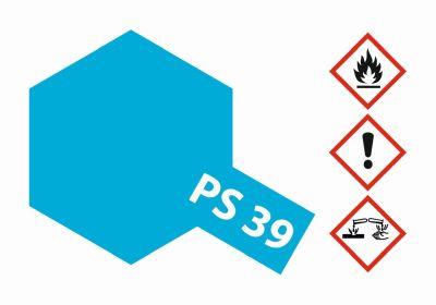 TAMIYA Farbe PS39 Translucent Hellblau Polycarbonat 100ml 300086039 bei Trade4me RC-Modellbau kaufen