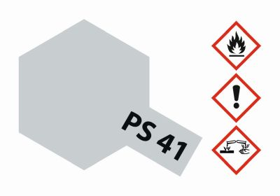 TAMIYA Color PS41 Hellsilber Polycarbonat 100ml 300086041 bei Trade4me RC-Modellbau kaufen