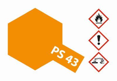 TAMIYA Farbe PS43 Translucent Orange Polycarbonat 100ml 300086043 bei Trade4me RC-Modellbau kaufen