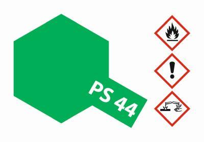 TAMIYA Farbe PS44 Translucent Grün Polycarbonat 100ml 300086044 bei Trade4me RC-Modellbau kaufen
