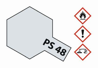 TAMIYA Farbe PS-48 Alu-Silber (Chrom) Polyc. 100ml 300086048 bei Trade4me RC-Modellbau kaufen