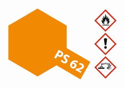 TAMIYA Color PS-62 Pure Orange (ENEOS) 100ml Spray 300086062 bei Trade4me RC-Modellbau kaufen