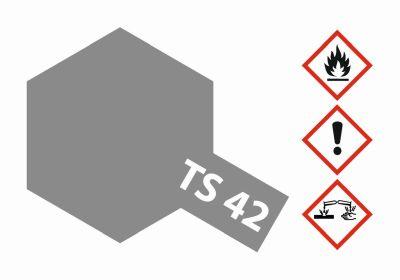 TAMIYA Farbe TS-42 Hell Gun Metall seidenmatt 100ml 300085042 bei Trade4me RC-Modellbau kaufen