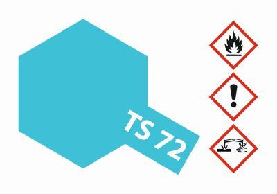 TAMIYA Farbe TS-72 Blau Transparent/Klar glänz. 100ml 300085072 bei Trade4me RC-Modellbau kaufen