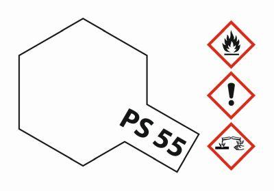 TAMIYA Farbe PS-55 Klarlack matt Polycarbonat 100ml 300086055 bei Trade4me RC-Modellbau kaufen