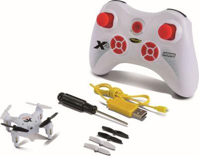 Carson X4 Quadcopter NANO 100%RTF white 500507079 bei Trade4me RC-Modellbau kaufen