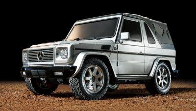 TAMIYA Mercedes Benz G-Class G230 Convertible (MF-01X) 1:10 RC 300058629 bei Trade4me RC-Modellbau kaufen