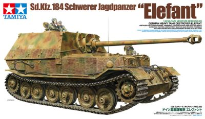 TAMIYA WWII heavy German battle tank Elefant 1:35 300035325 bei Trade4me RC-Modellbau kaufen