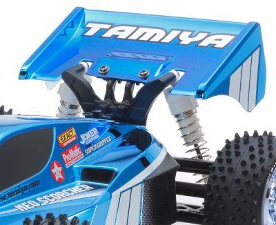 TAMIYA Neo Scorcher Blau Metallic TT-02B 1:10 RC 300047346 bei Trade4me RC-Modellbau kaufen