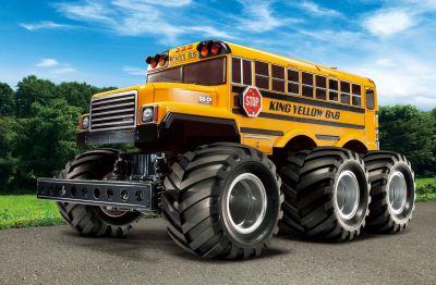 TAMIYA King Yellow 6x6 Bus G6-01 1:18 RC 300058653 bei Trade4me RC-Modellbau kaufen