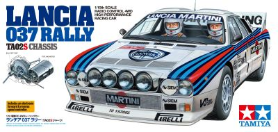 TAMIYA Lancia 037 Rallye TA-02S 1:10 RC 300058654 bei Trade4me RC-Modellbau kaufen