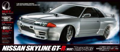 TAMIYA Nissan Skyline GT-R R32 TT-02D 300058651 bei Trade4me RC-Modellbau kaufen