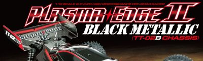 TAMIYA Plasma Edge II Black Metallic Edition 1:10 RC 300047366 bei Trade4me RC-Modellbau kaufen