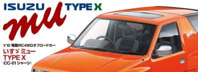 TAMIYA Isuzu MU Type X CC-01 1:10 RC 300047370 bei Trade4me RC-Modellbau kaufen