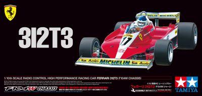TAMIYA Formel 1 Ferrari 312T3 1:10 RC 300047374 bei Trade4me RC-Modellbau kaufen