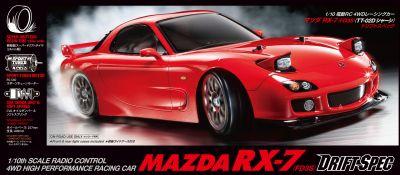 TAMIYA Mazda RX-7 (FD3S) Drift S.TT-02D 1:10 RC 300058648 bei Trade4me RC-Modellbau kaufen