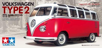 TAMIYA VW Bus Type 2 Samba T1 M-06 1:10 RC 300058668 bei Trade4me RC-Modellbau kaufen