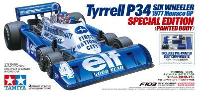 TAMIYA Tyrell P34 1977 Monaco Special 1:10 RC 300047392 bei Trade4me RC-Modellbau kaufen