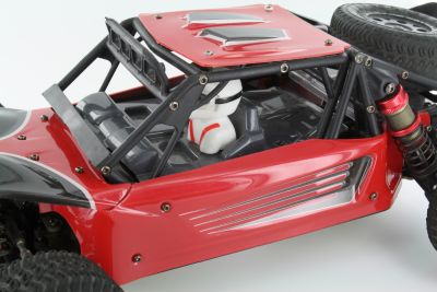 LC-Racing L6163 Desert Truck body red, 6-piece bei Trade4me RC-Modellbau kaufen