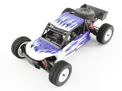 LC-Racing Desert Truck DT Color Body (PC) Blue and White L6204 bei Trade4me RC-Modellbau kaufen