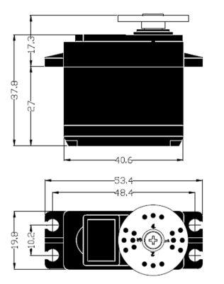 Multiplex Servo HS-645MG 112645 bei Trade4me RC-Modellbau kaufen