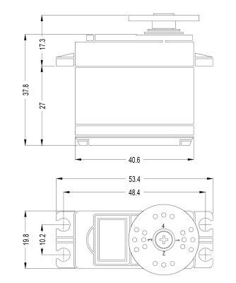 Multiplex Servo HS-5645MG 113645 bei Trade4me RC-Modellbau kaufen