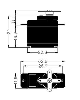 Multiplex Servo HS-55 112055 bei Trade4me RC-Modellbau kaufen