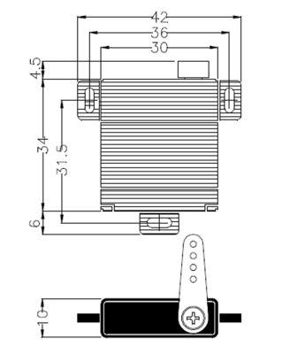 Multiplex Servo HS-125MG 112125 bei Trade4me RC-Modellbau kaufen