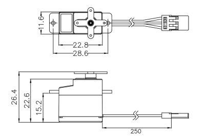 Multiplex Servo HS-53 112053 bei Trade4me RC-Modellbau kaufen