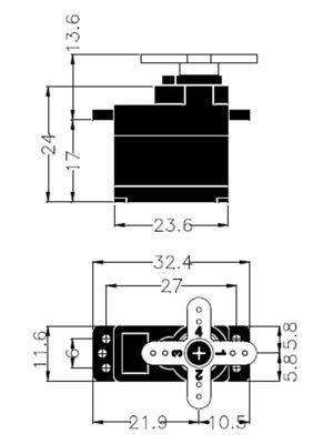 Multiplex Servo HS-65MG 112066 bei Trade4me RC-Modellbau kaufen