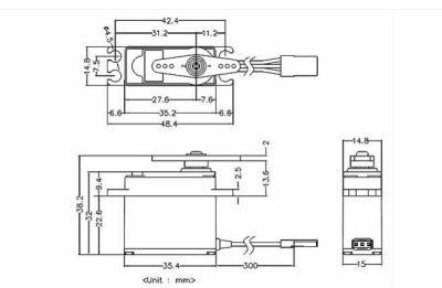 Multiplex Servo MD250MW 1-00707 bei Trade4me RC-Modellbau kaufen