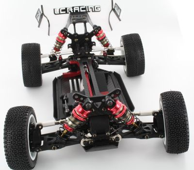OneHobby 004CV Brücke vorn 2,5mm Carbon LC racing Buggy bei Trade4me RC-Modellbau kaufen