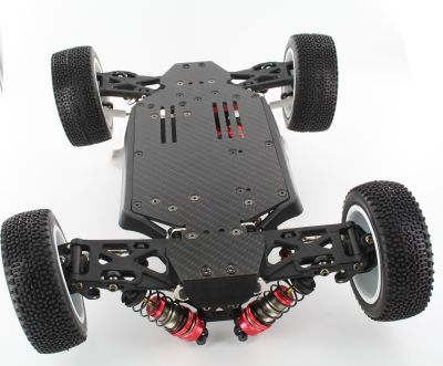 OneHobby Tuning Chassis Carbon 2,5mm  für LC-Racing Buggy - Monster Truck bei Trade4me RC-Modellbau kaufen