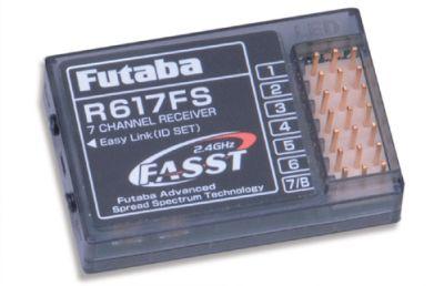 Futaba Empfänger 7 Kanal  Rx 2.4GHz FASST P-R617FS/2-4G bei Trade4me RC-Modellbau kaufen