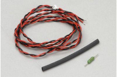Futaba Anschlusskabel zur externen Spannungsmessung P-EBB0141 bei Trade4me RC-Modellbau kaufen