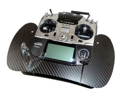 AHLtec Carbon transmitter console Futaba T14 SPT14SG bei Trade4me RC-Modellbau kaufen
