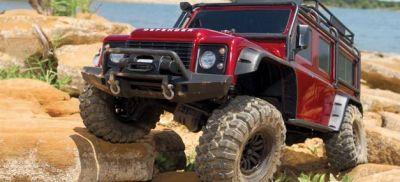 TRAXXAS TRX-4  Land Rover Crawler rot TRX82056-4R bei Trade4me RC-Modellbau kaufen