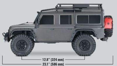 TRAXXAS TRX-4 Land Rover Crawler silber 1/10 Crawler 2.4GHz ohne Akku, ohne Lader TRX82056-4S bei Trade4me RC-Modellbau kaufen