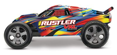 TRAXXAS Rustler VXL BL 2.4GHz Rock and Roll TRX37076-4 bei Trade4me RC-Modellbau kaufen