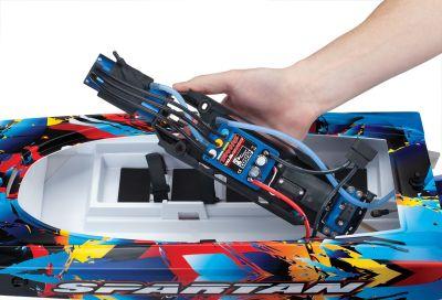 TRAXXAS SPARTAN Brushless Powerboot +TSM TRX57076-4 bei Trade4me RC-Modellbau kaufen