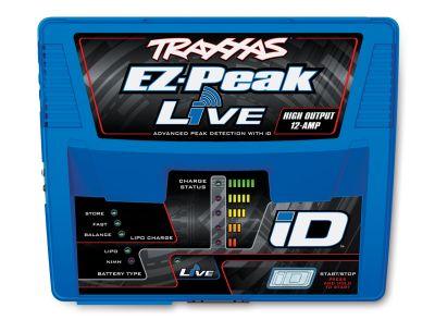TRAXXAS EZ-Peak Live bis 12-Amp NiMH/Lipo Schnell-Lader (Vers 2018) TRX2971GX bei Trade4me RC-Modellbau kaufen