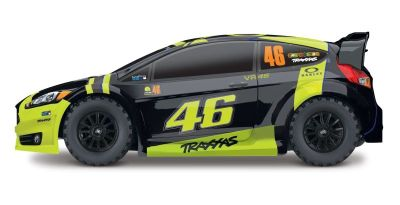 TRAXXAS Ford Fiesta ST VR46 Rally Valentino Rossi Edition TRX74064-1VR46 bei Trade4me RC-Modellbau kaufen
