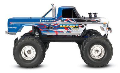 TRAXXAS Bigfoot Flame RTR +12V-Lader+Akku TRX36034-1FLME bei Trade4me RC-Modellbau kaufen